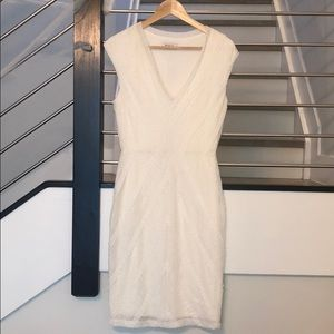 White cocktail dress from Bailey/44